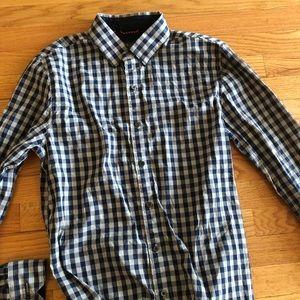 Under Armour Checkered button down shirt